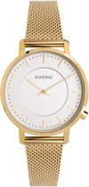 Komono Black Harlow Mesh horloge KOM-W4109