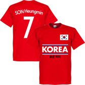 Zuid Korea Son 7 Team T-Shirt - XXL
