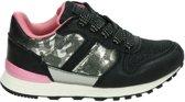Nelson Kids meisjes sneaker - Zwart - Maat 25