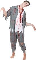 Zombie kostuum voor mannen - Verkleedkleding - Maat One size