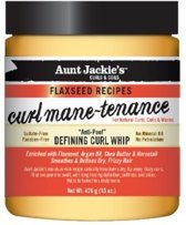 Aunt Jackie's Curls&Coils Flaxseed Recipes Curl Mane-Tenance Defining Curl Whip 426 gr