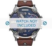Horlogeband Diesel DZ7314 Leder Bruin 28mm