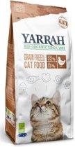 Yarrah cat adult graanvrij kip / vis kattenvoer 6 kg