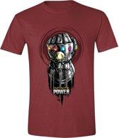 Avengers: Infinity War - Infinite Power Mannen T-Shirt - Rood - M