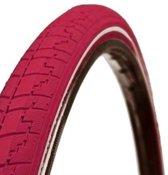 Dutch Perfect No Puncture - Buitenband Fiets - 40-622 / 28 x 1 5/8 x 1 1/2 inch - Roze