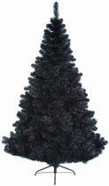 Everlands - Imperial Pine - Zwarte kunstkerstboom 150 cm hoog - Zonder verlichting