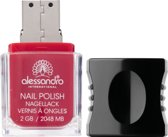Alessandro usb stick in nagellak vorm 2gb