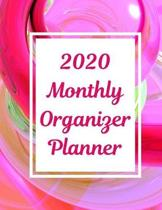2020 Monthly Organizer Planner: To-Do List With Goal Tracker, Calendar & Room For Notes