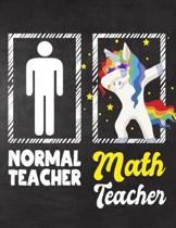 Normal Teacher Math Teacher