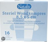 Natalis Gaaskompressen Ster - 16 stuks - Verband