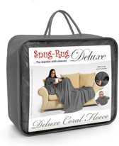 Gift House International Snug Rug Deluxe - Deken - Leigrijs