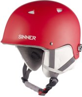 Sinner The Magic - Skihelm - Kinderen - XS / 51-52 cm - Rood