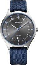 BERING 11739-873 - Horloge - Nylon - Zilverkleurig - Ø 39 mm