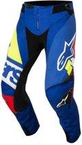 Alpinestars Crossbroek Techstar Factory Blue/Red/White/Fluor Yellow-28