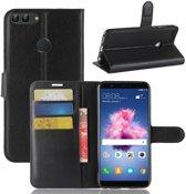 Huawei P Smart Book Case Hoesje - Zwart
