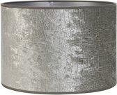 Light and living Light&Living Lampenkap CHELSEA velours silver 38 x 50 x 50