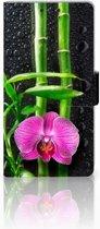 Sony Xperia Z1 Bookcase Design Orchidee