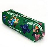 Minecraft Etui Groen   Schooletui   Etui Gamers