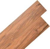Vloerplanken zelfklevend 5,02 m² 2 mm PVC natuurlijke iep (incl. Werkhandschoenen)