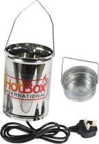 Zwavelverdamper Hotbox Sulfume bestrijding meeldauw toprot spint