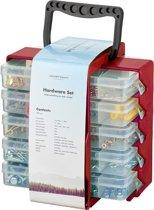 Organizer / Assortimentsdoos met gereedschap accessoires - 1001 delig (Schroeven, moeren, spijkers en meer!)