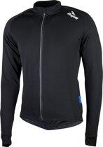 Rogelli Caluso 2.0 Fietsshirt - Heren - Maat 3XL - Lange mouwen - Zwart
