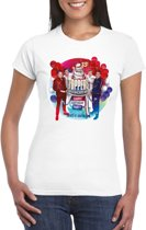 Toppers - Wit Toppers in concert 2019 officieel t-shirt dames XS