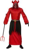 Duivels sekte kostuum voor mannen - Volwassenen kostuums