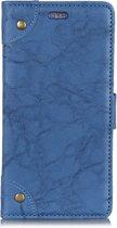 Mobigear Copper Buckle Retro Wallet Hoesje Blauw Xiaomi Mi Mix 3
