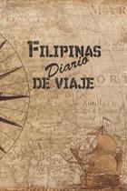 Filipinas Diario De Viaje: 6x9 Diario de viaje I Libreta para listas de tareas I Regalo perfecto para tus vacaciones en Filipinas