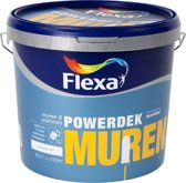 Flexa Powerdek Muurverf - 10 liter - Muren & Plafonds - Stralend Wit