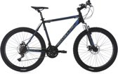 Ks Cycling Fiets 26 inch hardtail-mountainbike Sharp met 24 versnellingen zwart-blauw - 51 cm