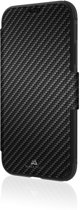 Black Rock Flex Carbon Wallet Booktype hoesje voor iPhone Xr - Zwart