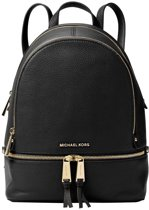 Michael Kors Rugzakken Rhea Zip Medium Backpack Zwart