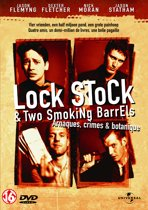 DVD cover van Lock, Stock and two Smoking Barrels