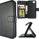 Cyclone portemonnee hoesje iPhone 7 Plus zwart