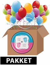 Bolcom Photo Booth Props Gender Reveal 20 Stuks Partywinkel