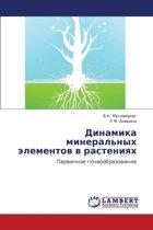 Dinamika Mineral'nykh Elementov V Rasteniyakh