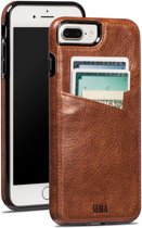 Sena iPhone 7 Plus Lugano Wallet - Cognac