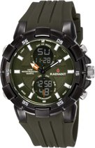 Radiant new powertime RA458604 Mannen Quartz horloge