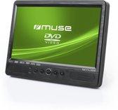 Muse M-1095 CVB - Dubbele DVD-speler /scherm - zwart - 10 inch