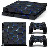 Hex Lightning - PS4 Console Skins PlayStation Stickers