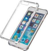 Transparant Siliconen Backcover hoesje met versterkte randen voor iPhone 7