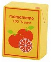 Mamamemo Pakje Sinaasappelsap Hout 4 X 6 X 3 Cm Oranje