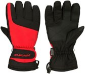 Rood/zwarte wintersport handschoenen Starling met Thinsulate vulling voor volwassenen S (7)
