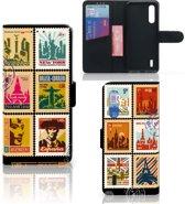 Xiaomi Mi 9 Lite Flip Cover Postzegels