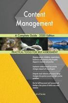 Content Management a Complete Guide - 2020 Edition