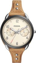 Fossil Tailor ES4175 - Horloge - Staal -  Zilverkleurig - 38 mm