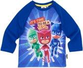 PJ-Masks-T-shirt-met-lange-mouw-blauw-maat-104
