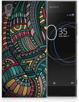 Sony Xperia XA1 TPU Hoesje Design Aztec